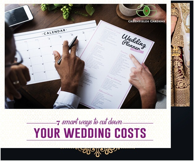 7 smart ways to cut down your wedding costs
